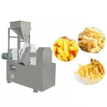 Inflating Corn Filling Snacks Food Production Line