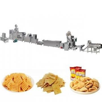 Automatic Extruded Wheat Flour Fried Snack Food Chips Production Line