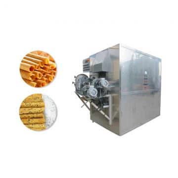 High Quality Low Energy Cost Uniform Coated Chocolate Enronbing Production Line for Snack Food Coating
