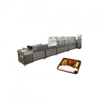 Tunnel Garlic Slice Microwave Bamboo Shoots Drying and Sterilizing Machine