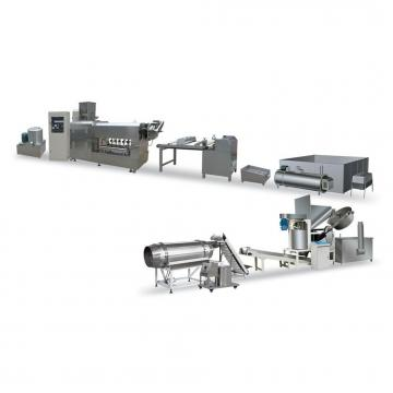 Dayi Square Flakes Wave Shape Fried Snack Pellet Processing Line