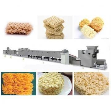 Stainless Steel Mini Size Instant Noodle Making Equipment Production Line