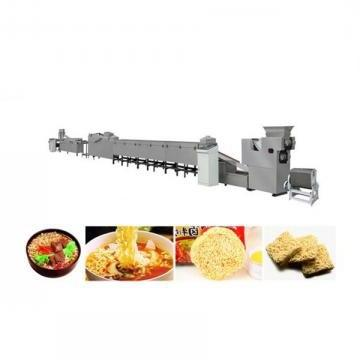 Small Scale Fired Instant Noodle Making Processing Machine Production Line