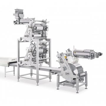 Complete Chocolate Cereal Bar Production Line Machines Durable Simple to Handle Automatic Cereal Bar Making Machine
