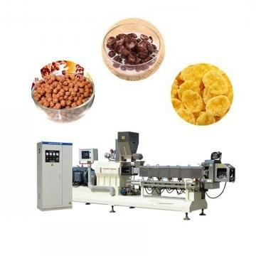 China Jinan Remarkable Full Automatic Corn Flakes Snacks Food Machine Production Line