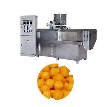 Industrial Flavoured Corn Filled Puffed Snacks Making Machine