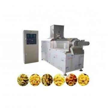 Double Screws Puffed Corn Chip Snack Extrusion Making Machinery