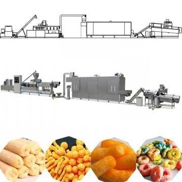 Extruded Food Puffed Corn Pellet Snack Making Machine