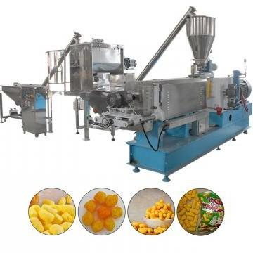 Indian Puffed Corn Rice Snack Extruded Making Machine