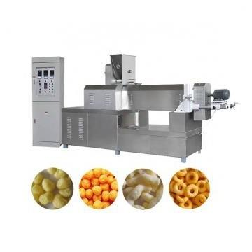 Puffed Rice Corn Snacks Twin Screw Extruder Processing Making Packing Machinery