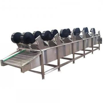 High Efficiency Multifunctional Industrial Leaf Vegetable Lettuce Chili Washer Washing Slicing Dewatering Processing Line Cleaning Machine (TS-X680)