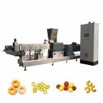 Extruded Core Filling Snack Machine Corn Chips Food Coco Puff Pops Extrusion Puffing Machine
